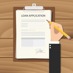 50 pound loan application