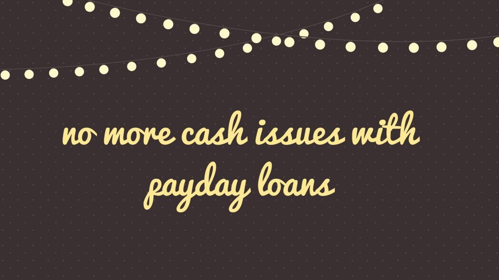 why choose Payday Loans For Unemployed