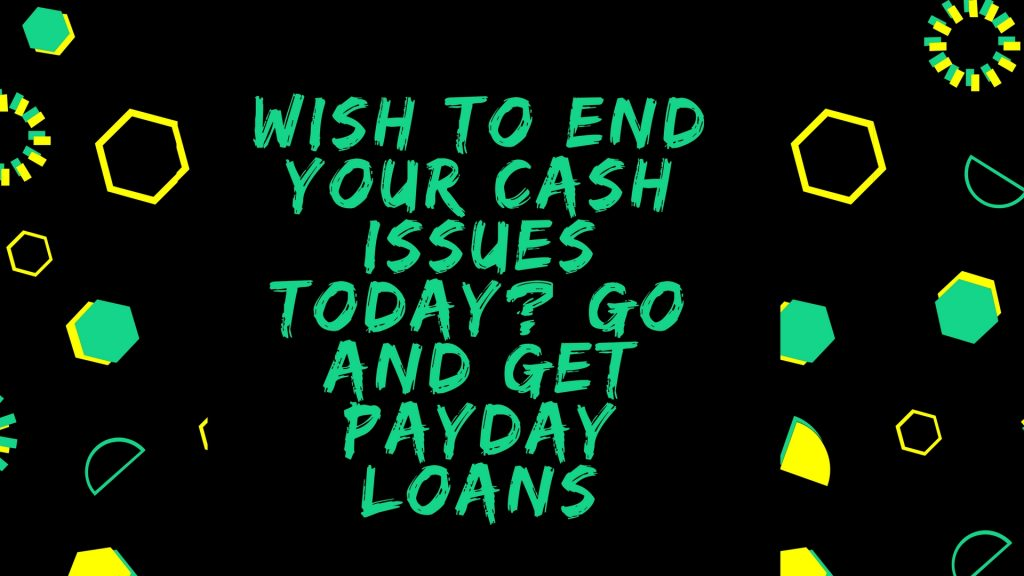 get quick cash loans today