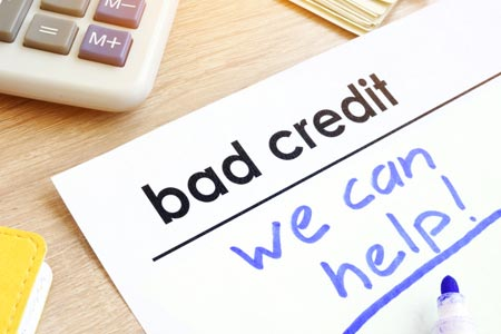 bad credit is considered by direct lenders