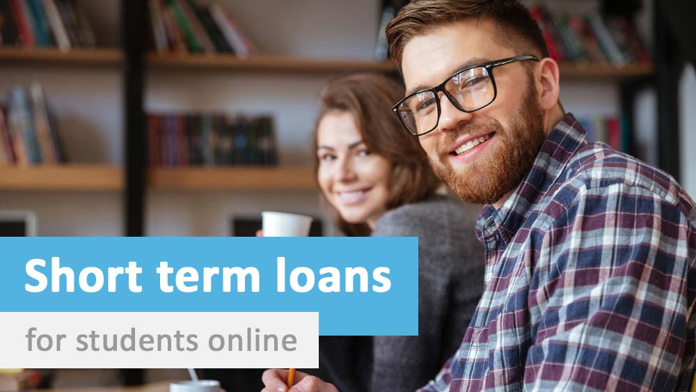 short term loans for students available online